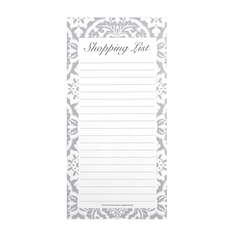 Magnetic Shopping List Pad - Vanderbilt