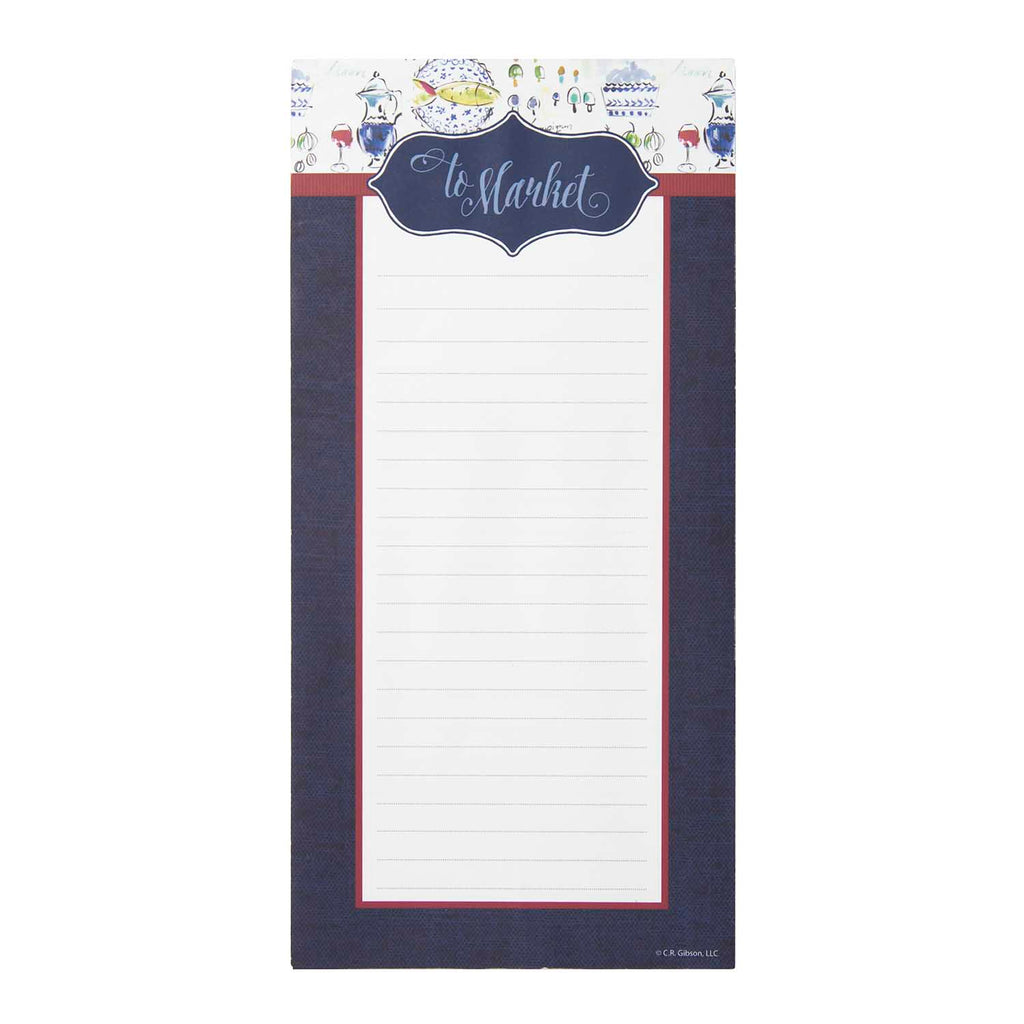 Magnetic Shopping List Pad - Provence