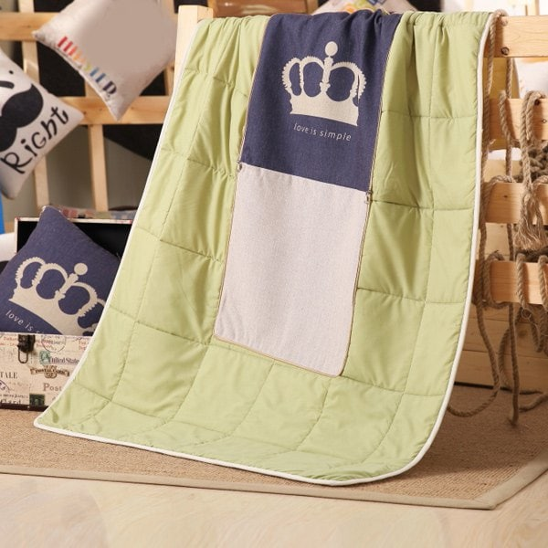 Crown Pillow & Blanket