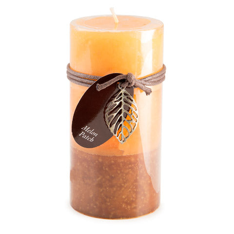 Dynamic Collections® Layered Candles - Melon Patch - 6-inch Pillar