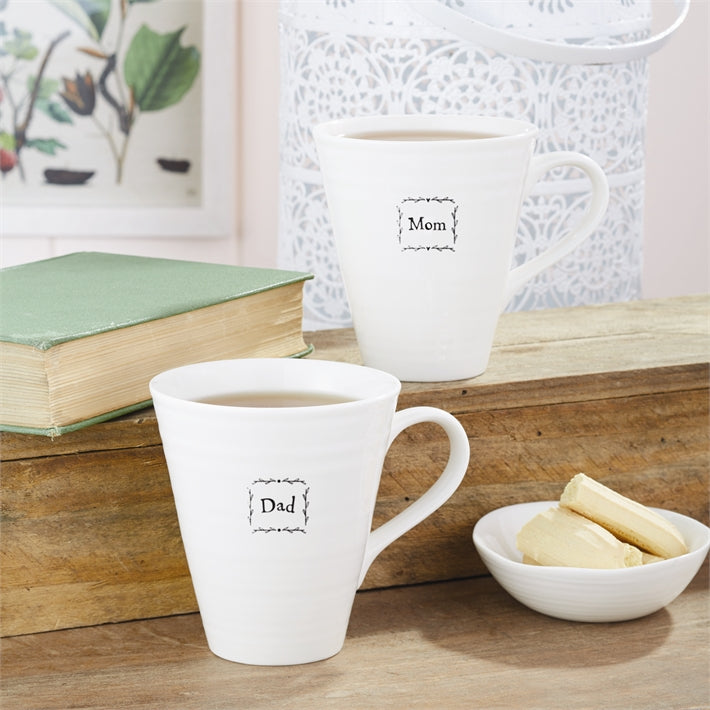 """Mom"" Porcelain Mug"