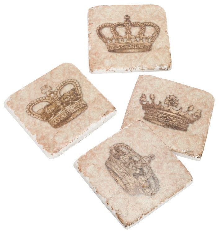 Crown Coaster (Set of 4)