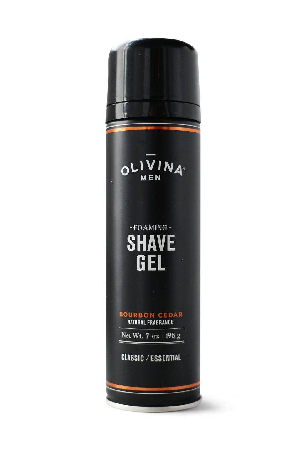 Foaming Shave Gel - Bourbon Cedar (7 oz.)