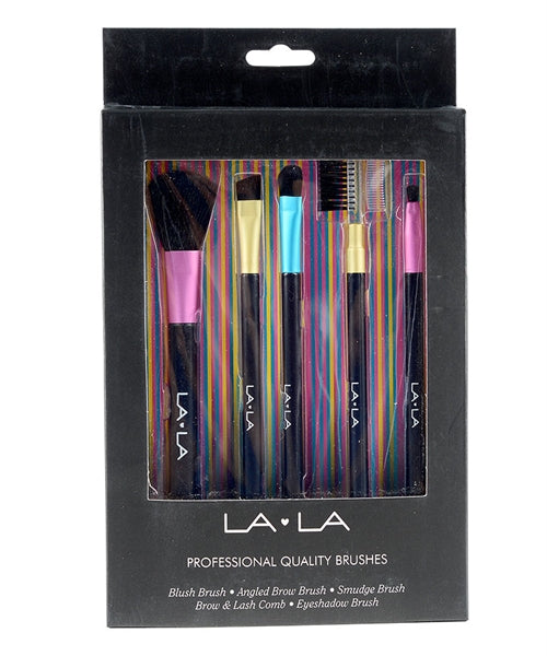 La La Professional Quality Brushes