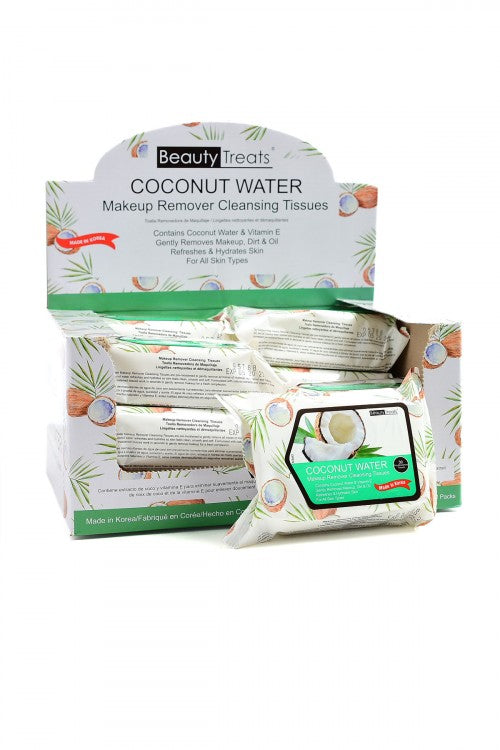 Beauty Treats Coconut Cleansing Tissues