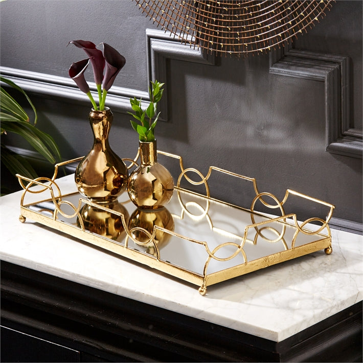 Gold Luxembourg Tray