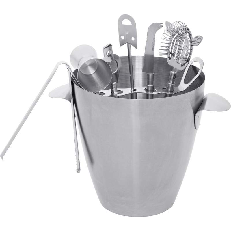 8 Piece Stainless Steel Barware Set