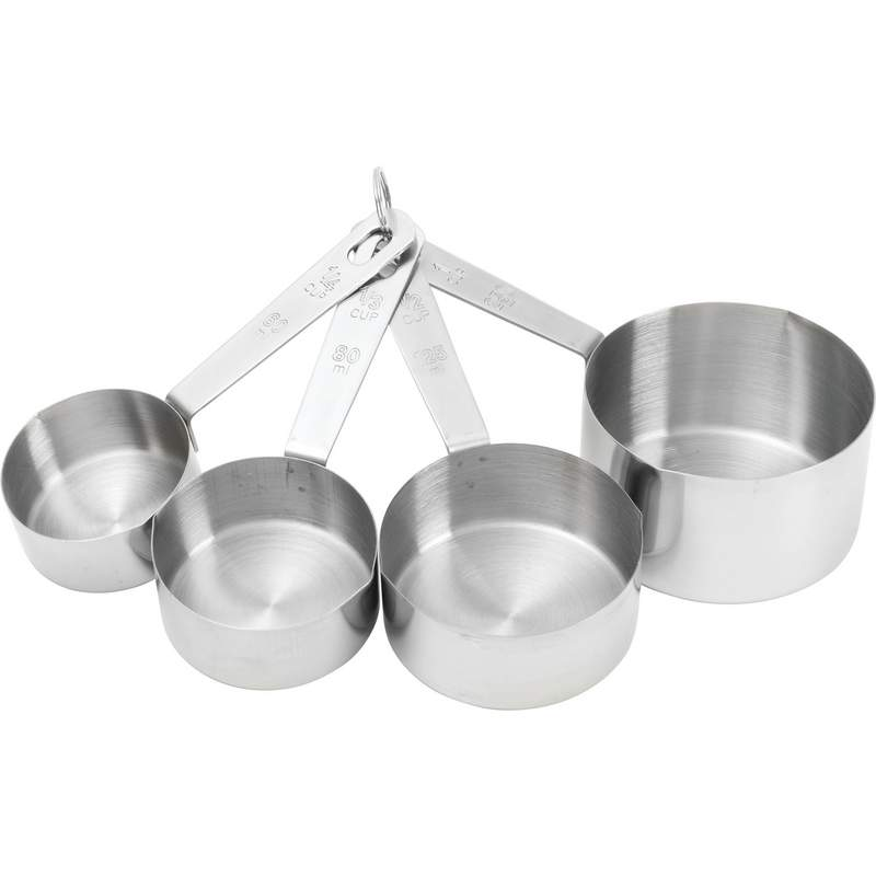 Stainless Steel Measuring Cup Set