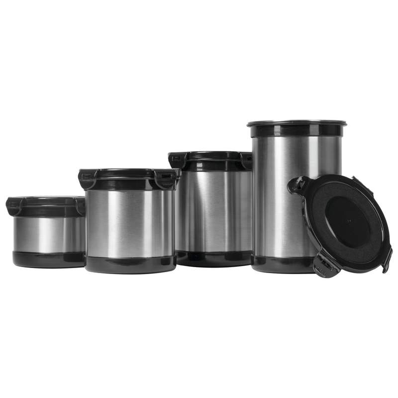 Stainless Steel Storage Containers (4 Piece Set)