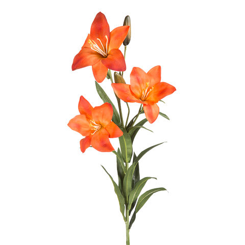 Artificial Orange Lilies