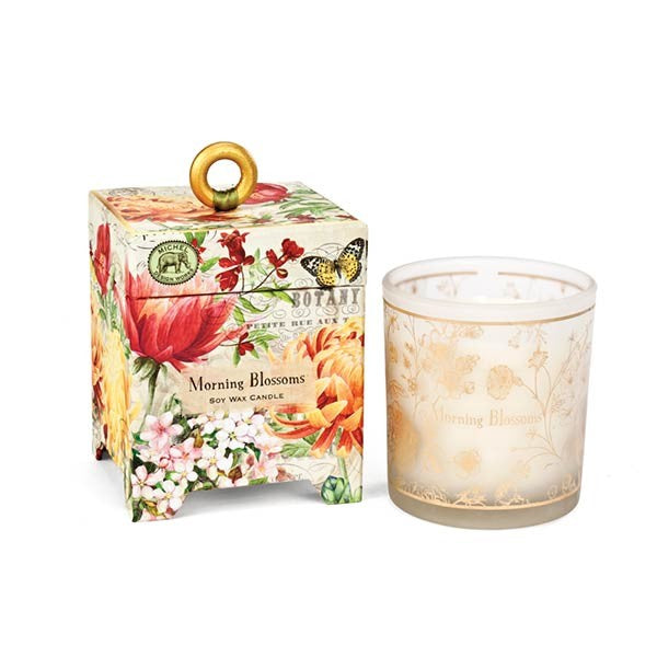 Morning Blossoms 6.5 oz. Soy Wax Candle