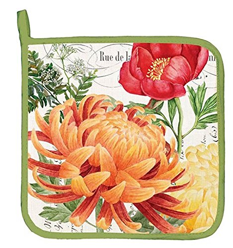 Morning Blossoms Potholder