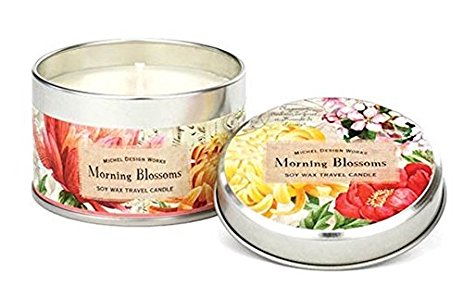 Morning Blossoms Travel Candle
