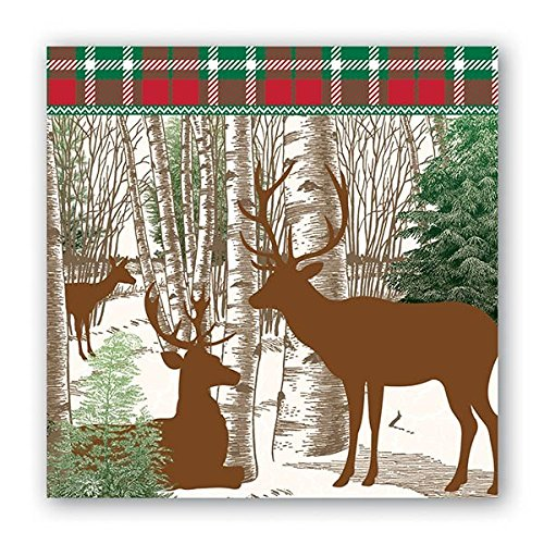 Winter Woods Cocktail Napkins