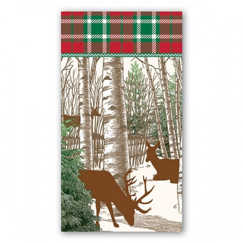 Winter Woods Hostess Napkins