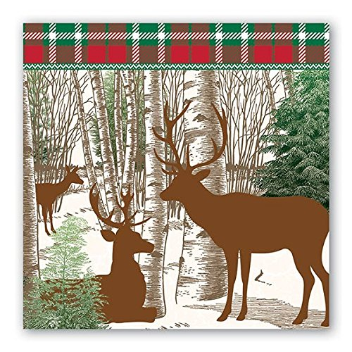 Winter Woods Luncheon Napkins