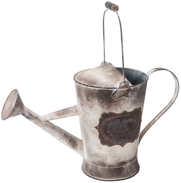Metal Rose Garden Watering Can