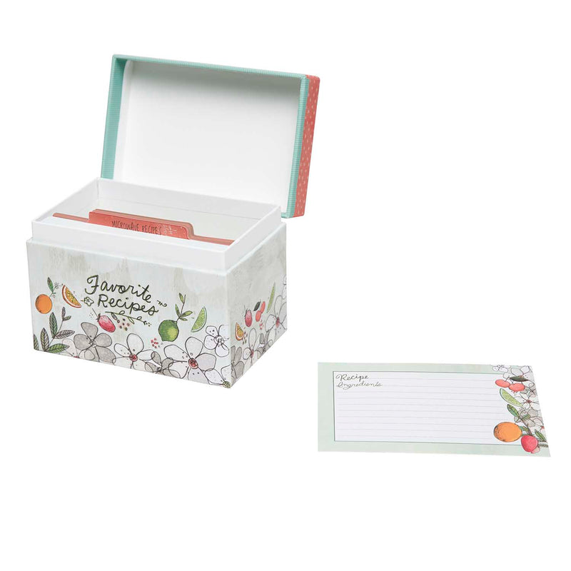 Recipe File Box - Fruit Fusion