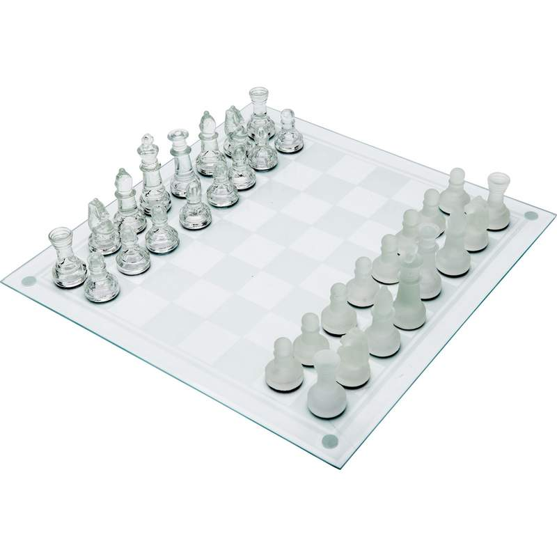 33 Piece Glass Chess Set
