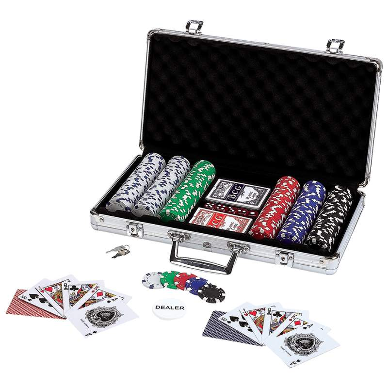 Poker Chip Set in Aluminum Case