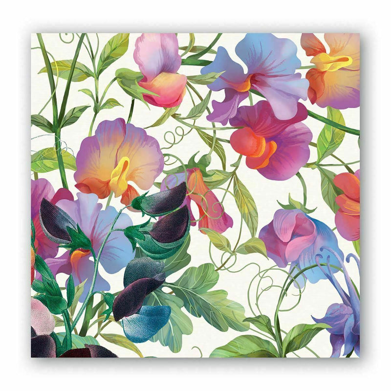 Sweet Pea Cocktail Napkins