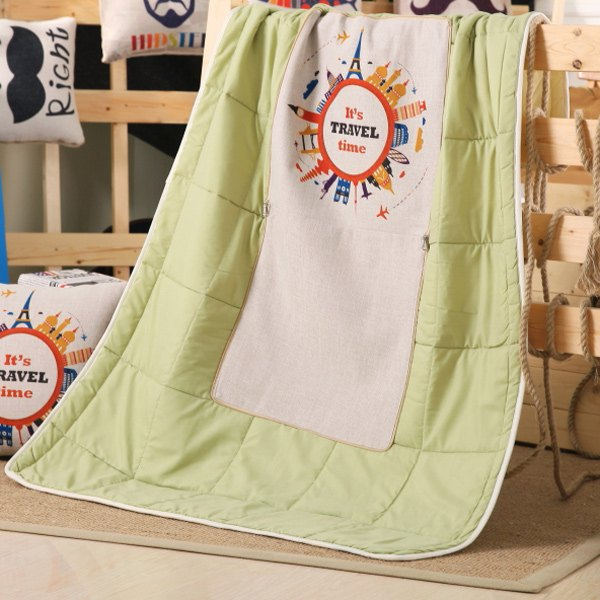 Travel Time Pillow & Blanket