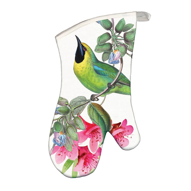 Bird Song Oven Mitt