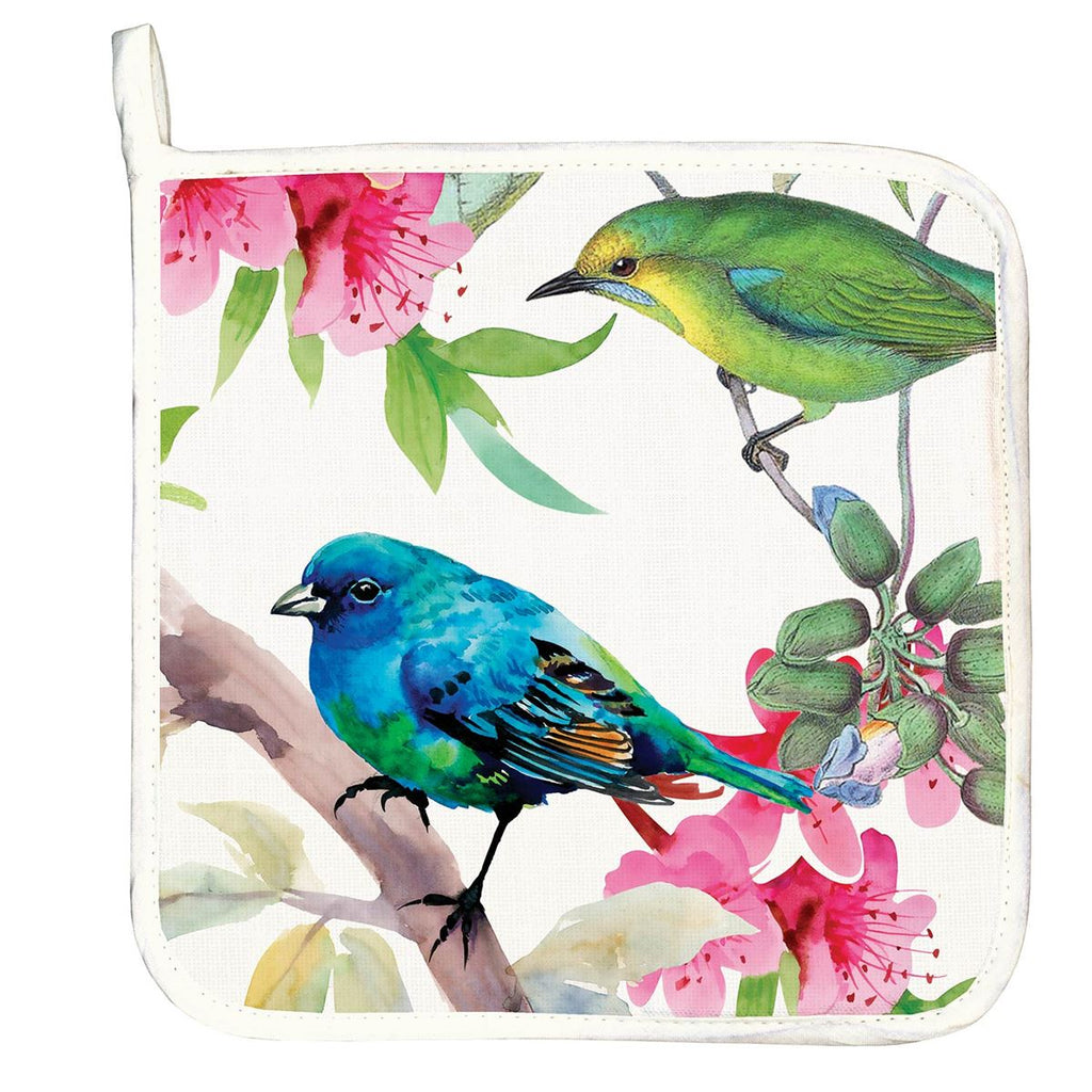 Bird Song Potholder