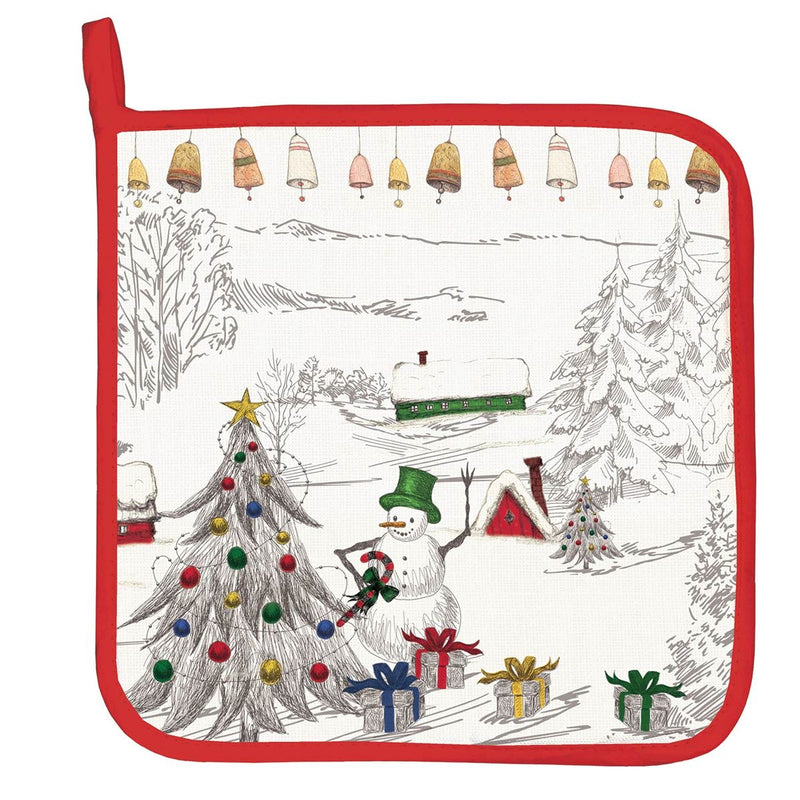 Season's Greetings Potholder