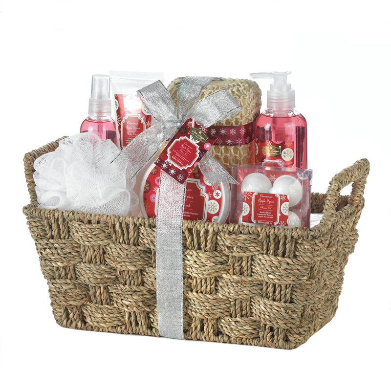 Apple Spice Spa Gift Basket