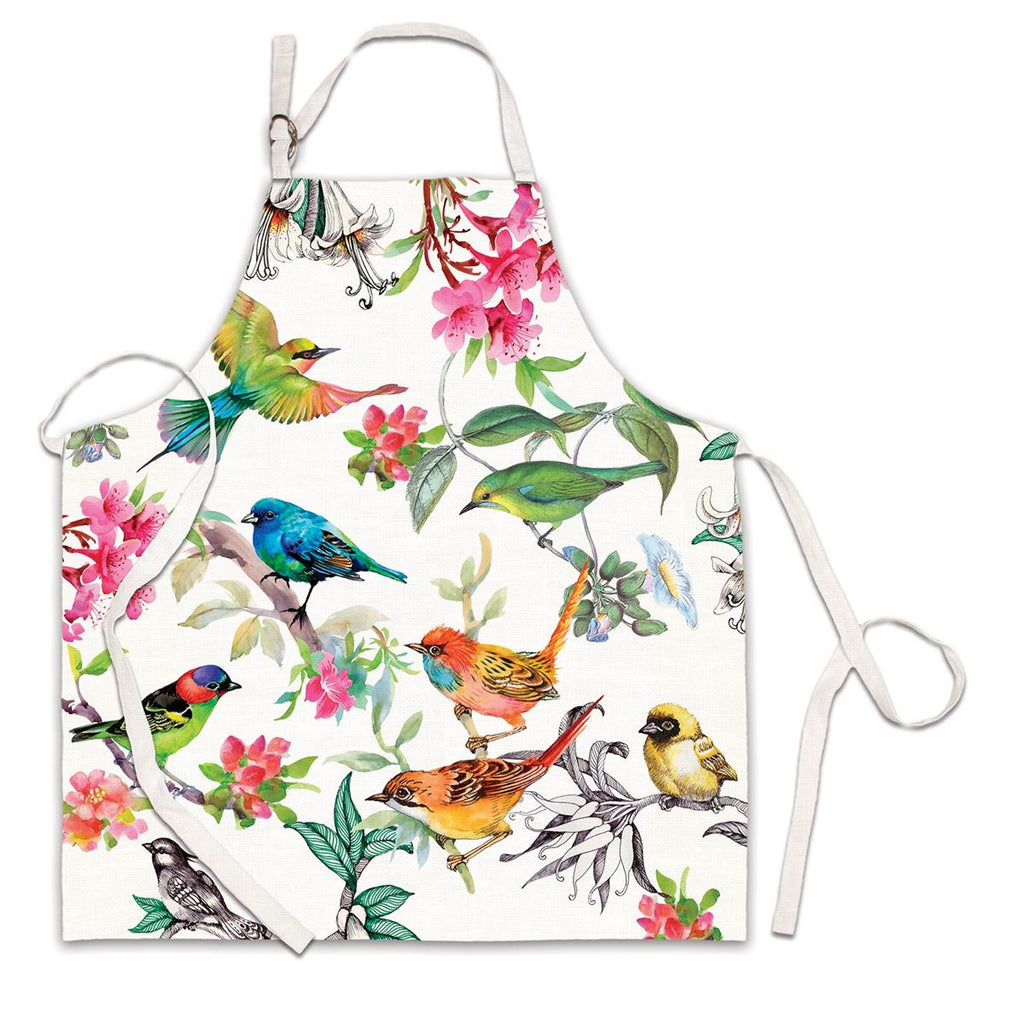 Bird Song Apron