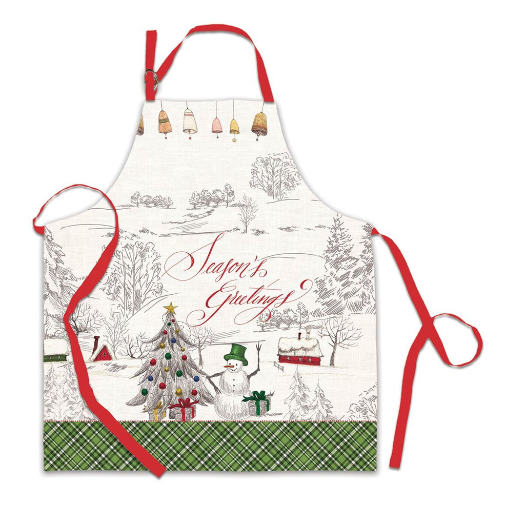 Season's Greetings Apron