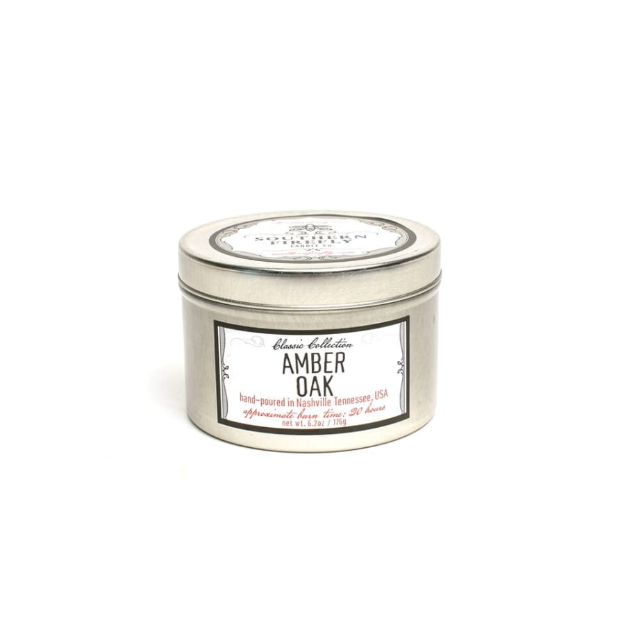 Amber Oak - Travel Candle