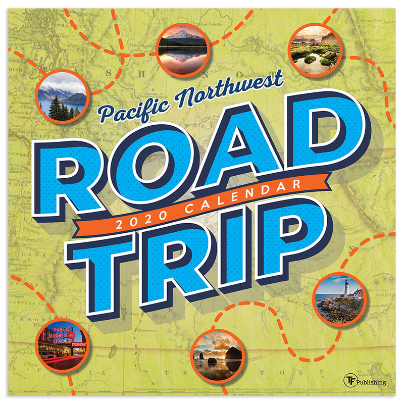 Pacific Northwest Road Trip Calendar