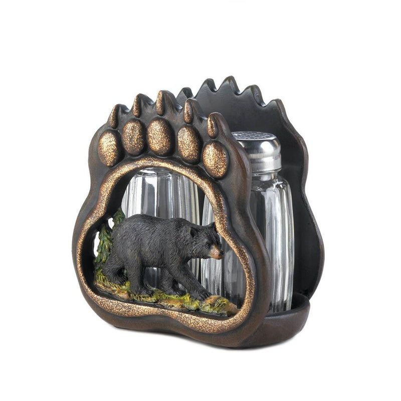 Bear Paw Salt and Pepper Holder