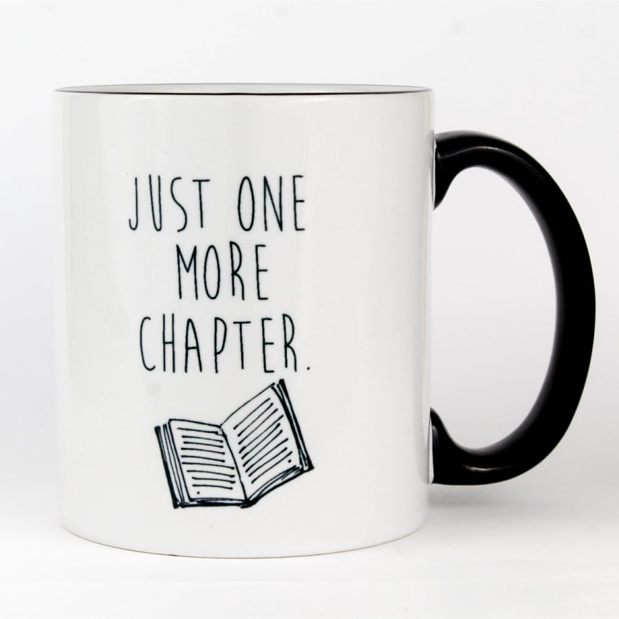 Just One More Chapter Mug (11 oz.)