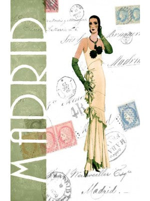 Madrid Fashion Print