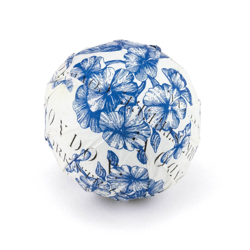 Indigo Cotton Large Bath Bomb