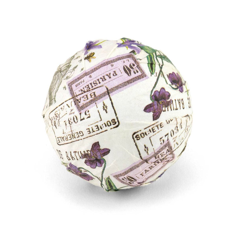 Lilac and Violets Large Bath Bomb