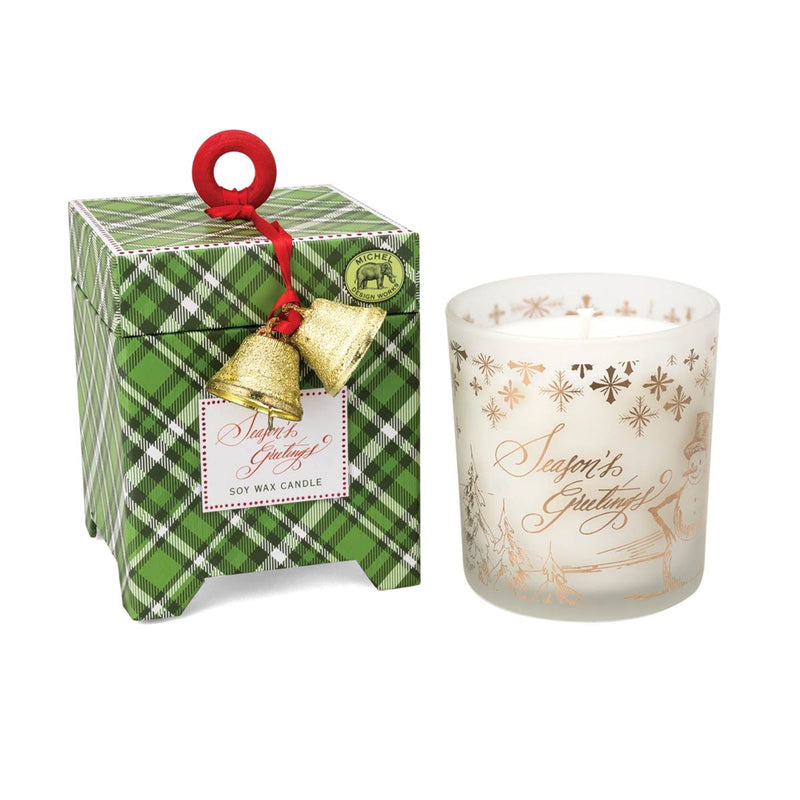 Season's Greetings 6.5 oz. Soy Wax Candle