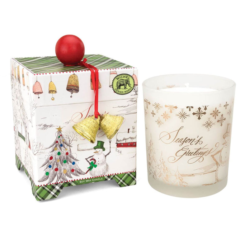 Season's Greetings 14 oz. Soy Wax Candle