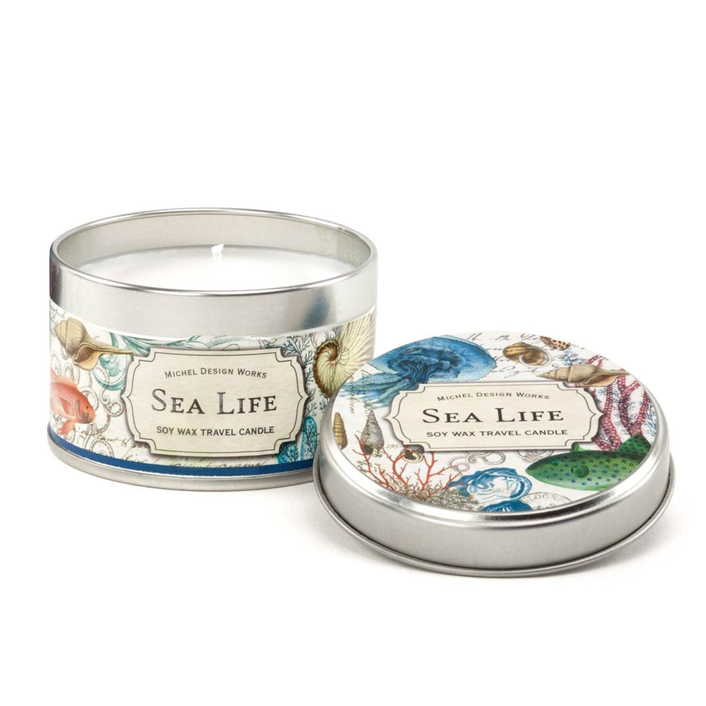 Sea Life Travel Candle