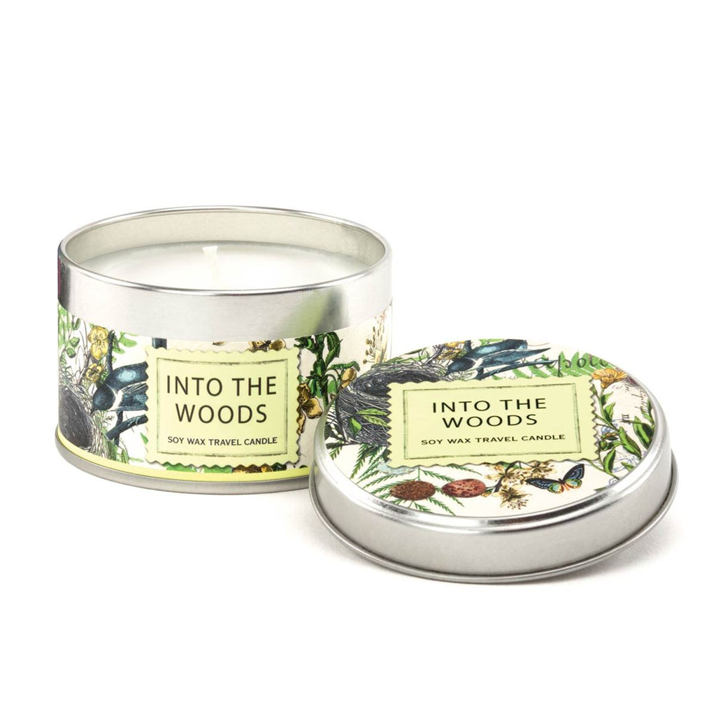 Into the Woods Travel Candle
