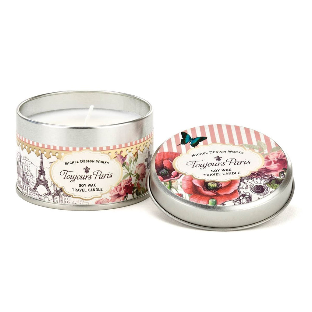 Toujours Paris Travel Candle