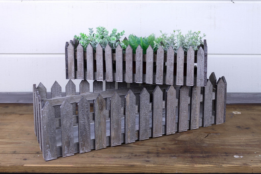 Long Fence Crate (Set of 2)