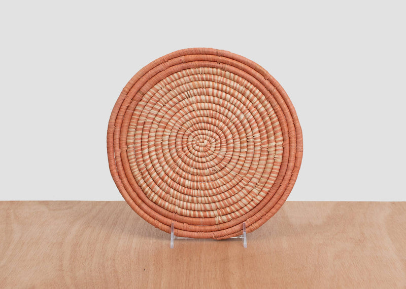 Peach Heathered Trivet