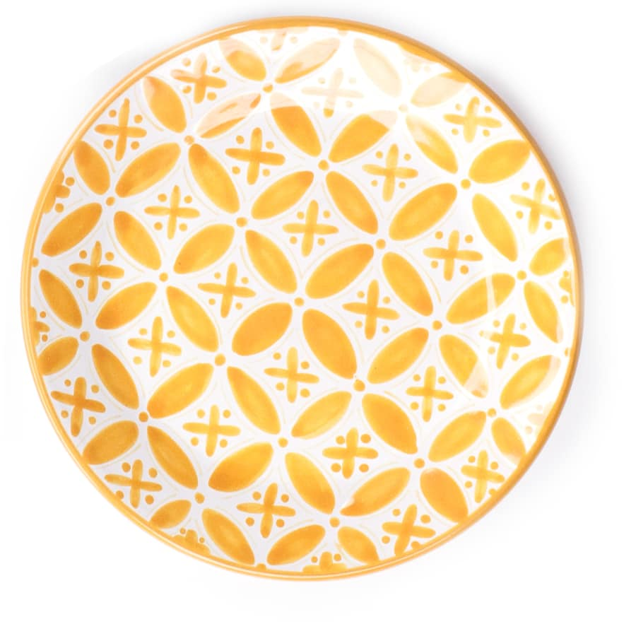 Yellow Fez Side Plate