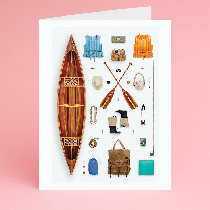 Canoeist Notecard - Box Set of 8