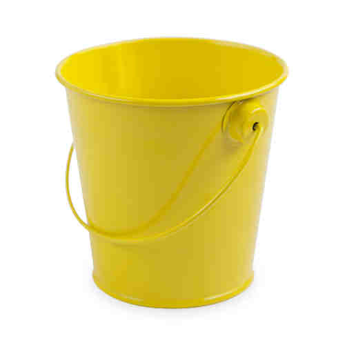 Lemon Metal Pail