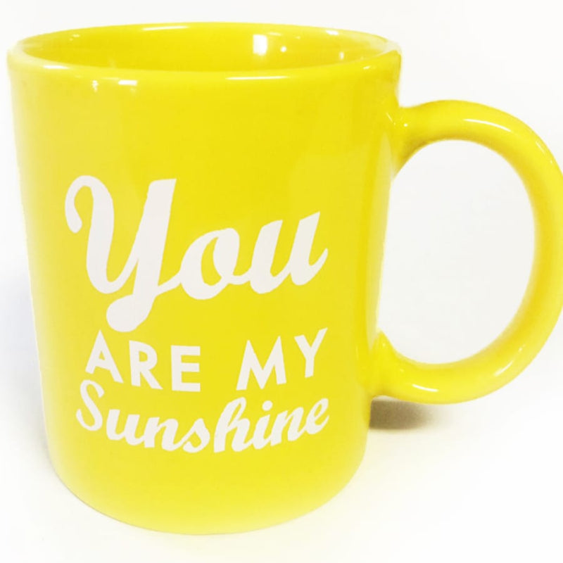 You Are My Sunshine Mug - Yellow